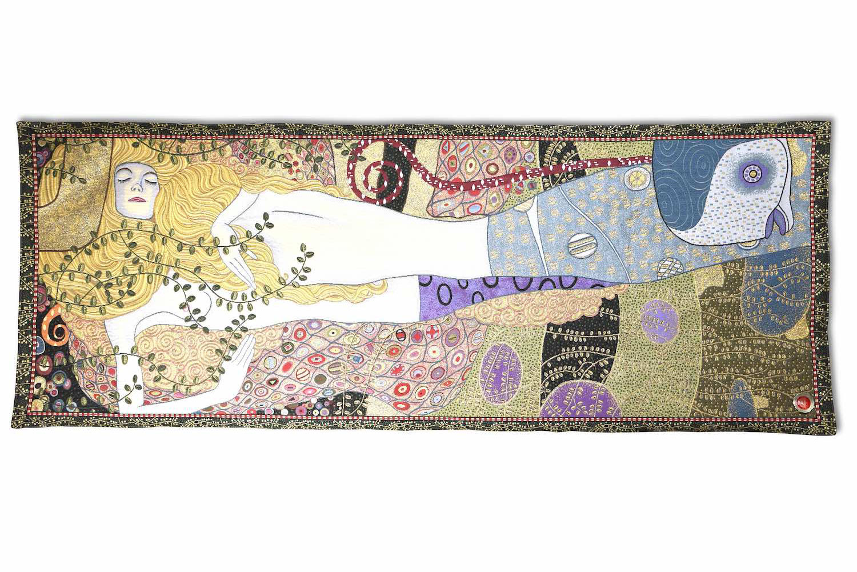 Wandgobelin WASSERSCHLANGEN, 70 x 170 und 170 x 70 cm
