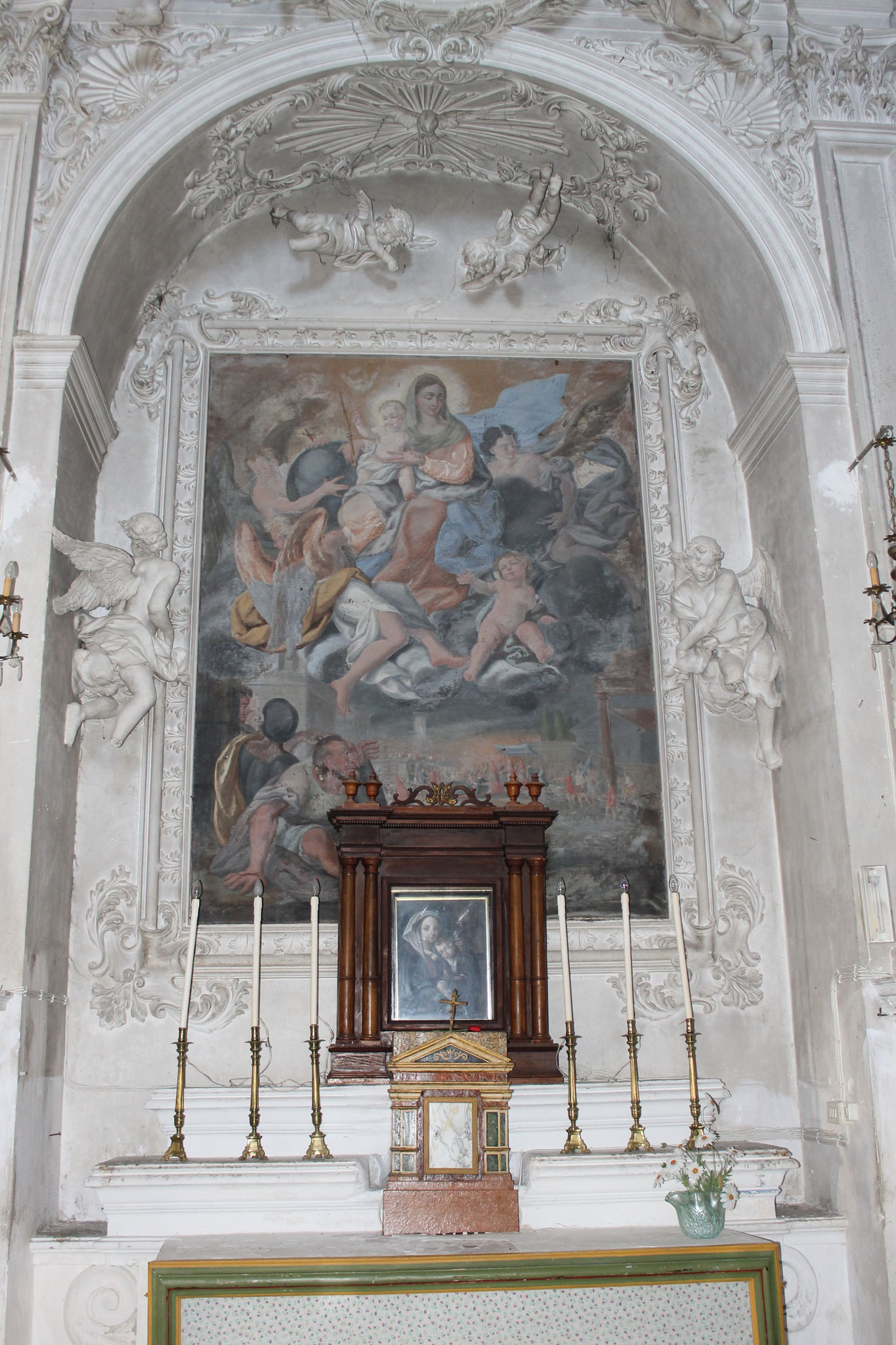 Apparizione della Vergine durante la Battaglia di Lepanto