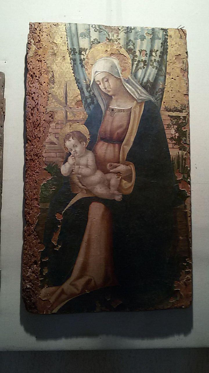 Madonna col Bambino, Antonello Crescenzio, 1530 ca.