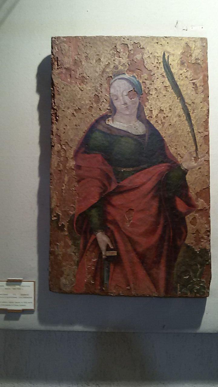 Santa Caterina, Antonello Crescenzio, 1530 ca.