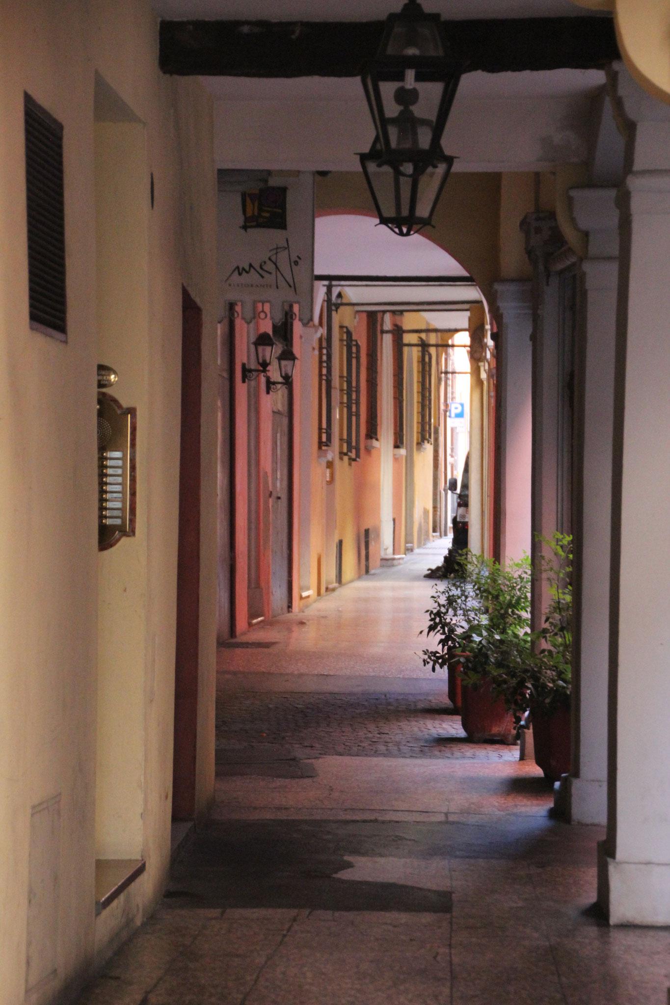 Les arcades de Bologne