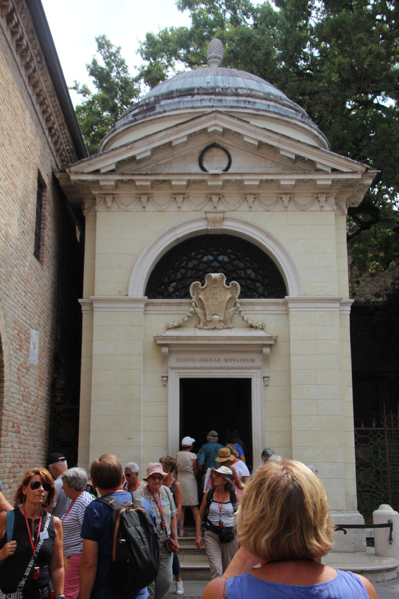 Tombeau de Dante à Ravenne
