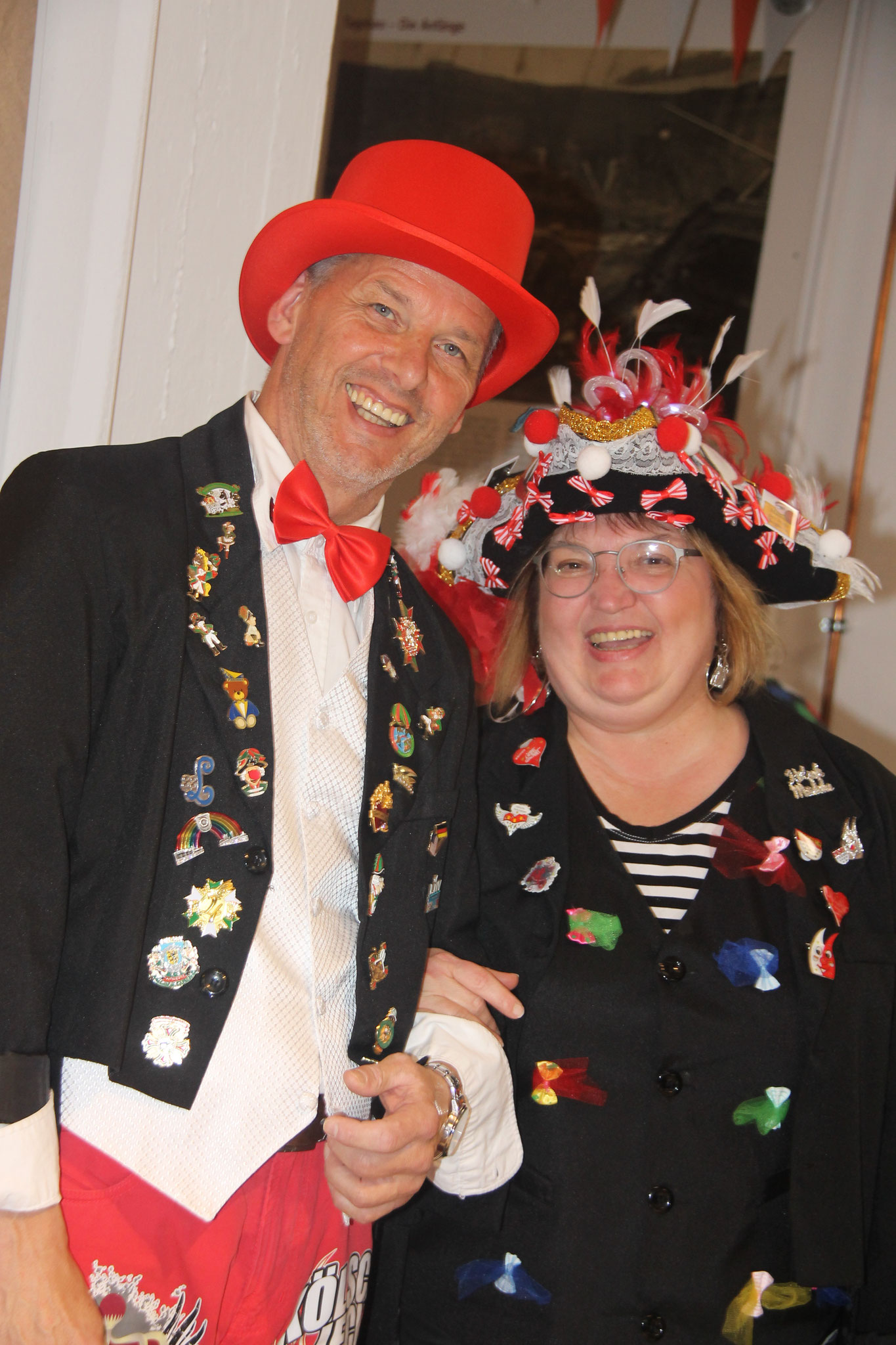 Unsere Moderatoren: Astrid und Peter