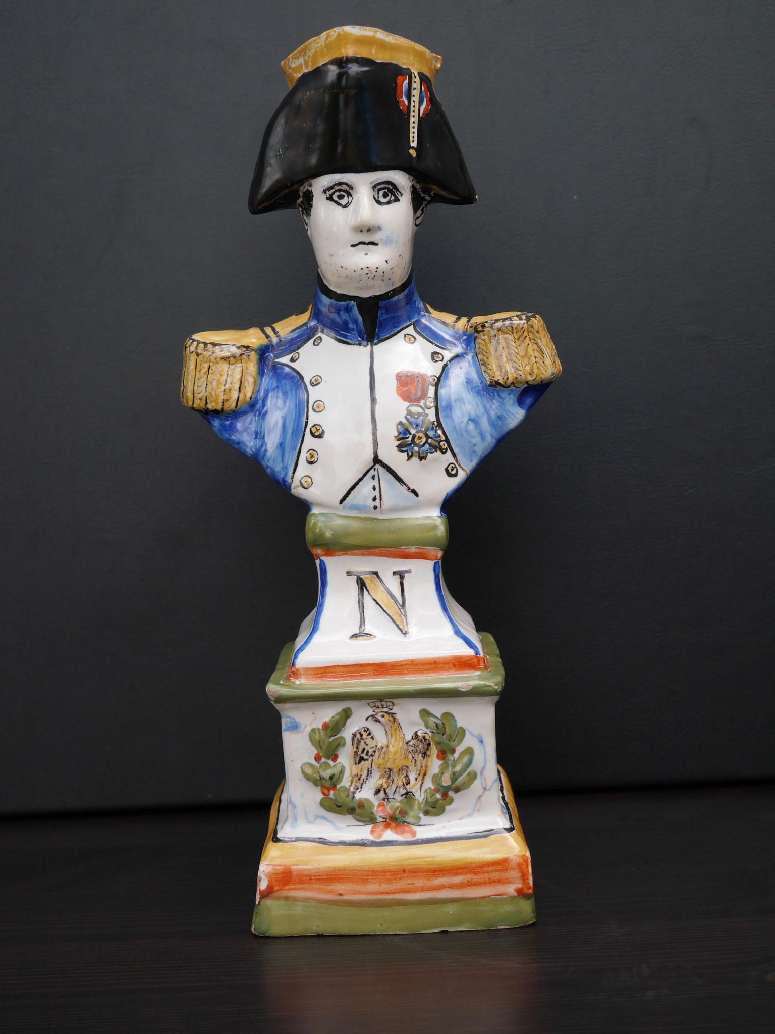 Pichet Jacquot à l'effigie de Napoléon Premier Empereur  - Haut. 28