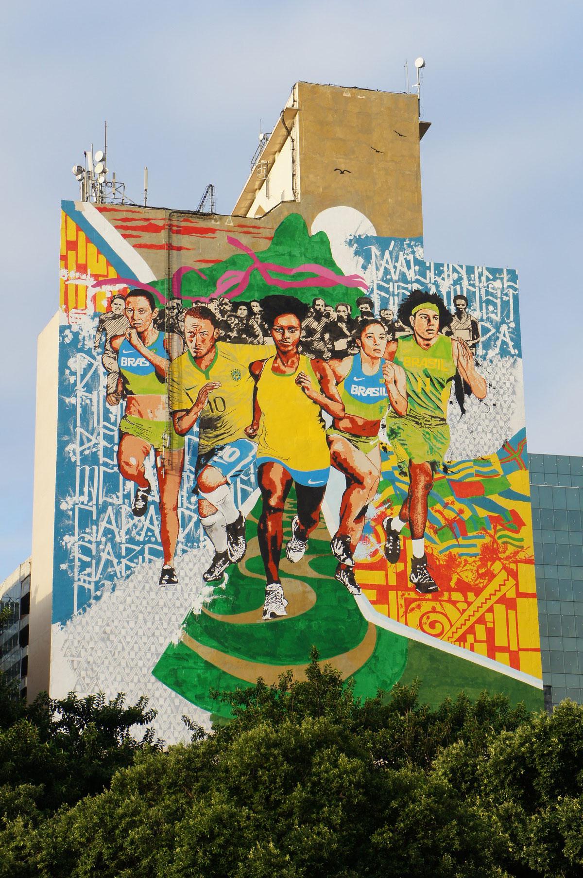 Belle fresque en ville