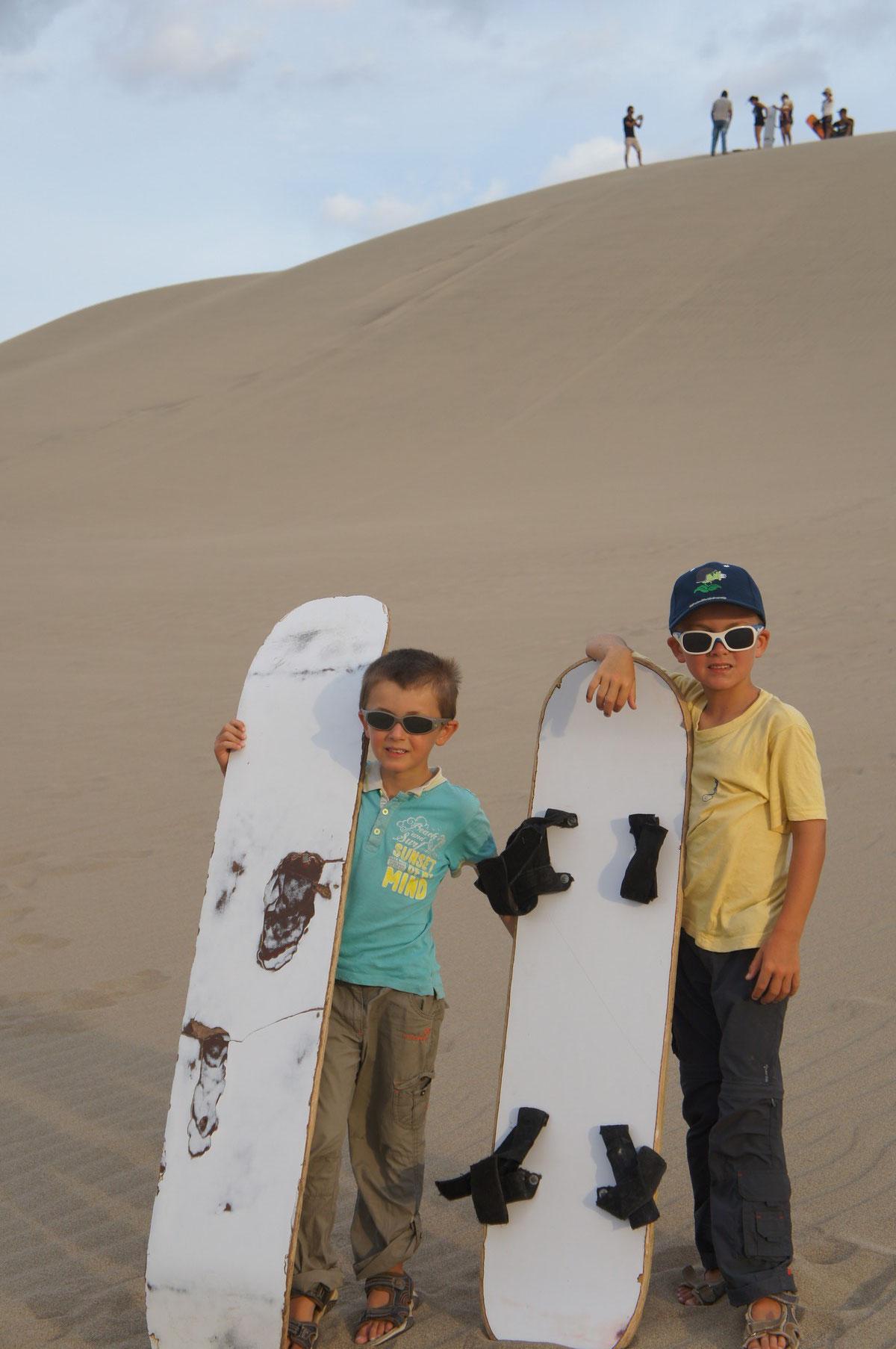 Les deux surfeurs !