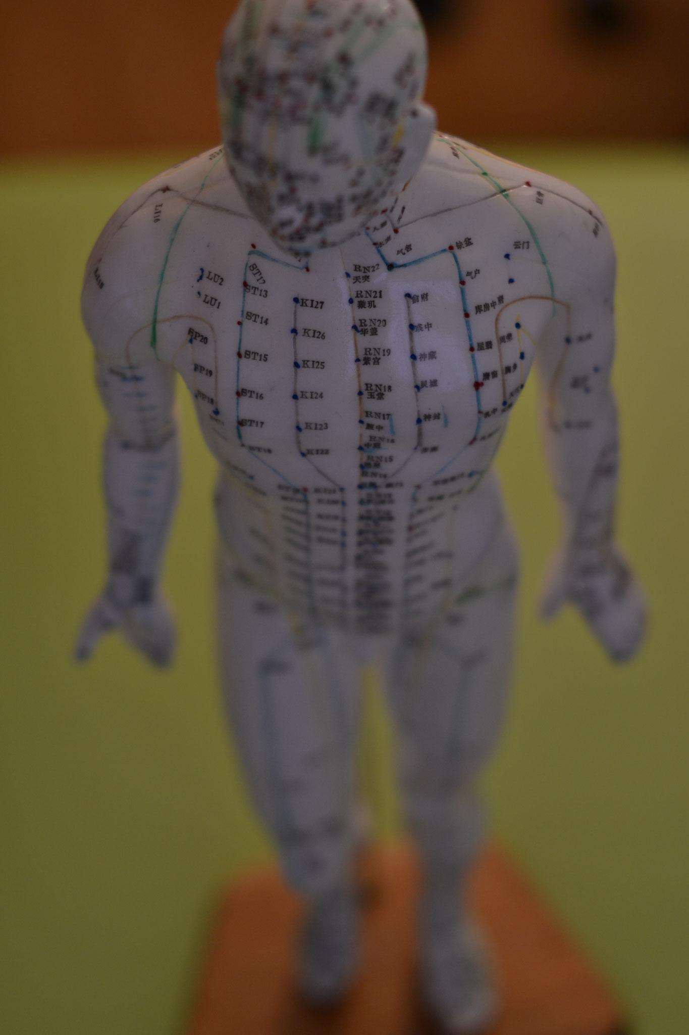 das berühren der im zusammenhang stehenden akupunkturpunkte kann grosses (aus-)lösen