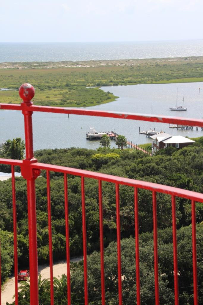 Blick vom St. Augustine Lighthouse