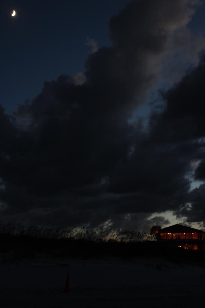 Abendstimmung am Strand von St. Augustine