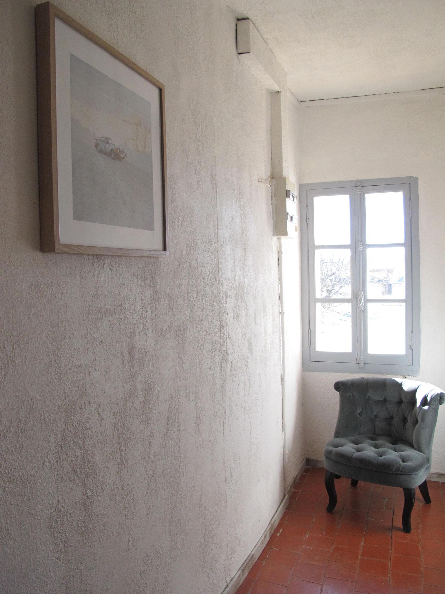 couloir Hôtel pension restaurant le Guintrand au pied du mont Ventoux Bedoin chambre