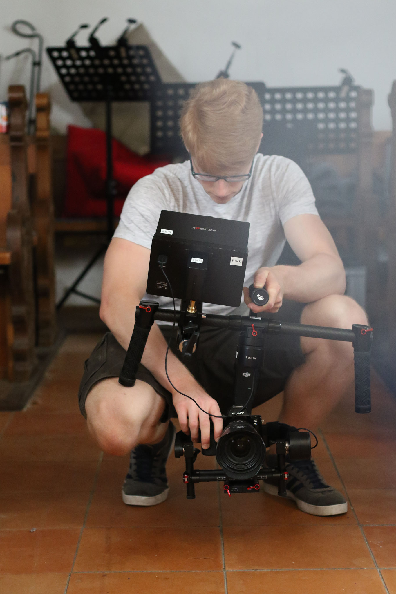 "Videodreh Kurzfilm ""Stumm"""