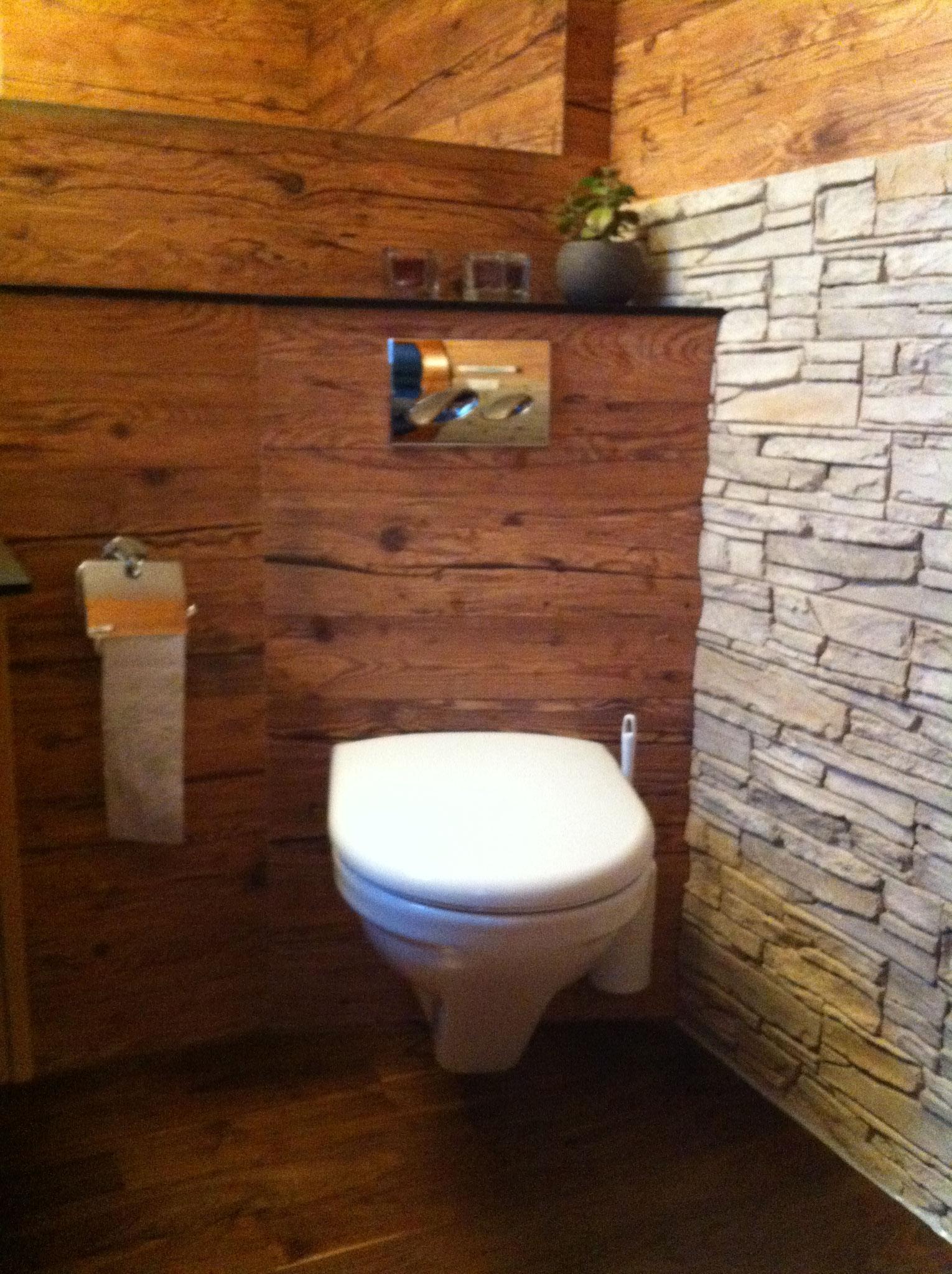 individuelle Gestaltung von Gäste WC...
