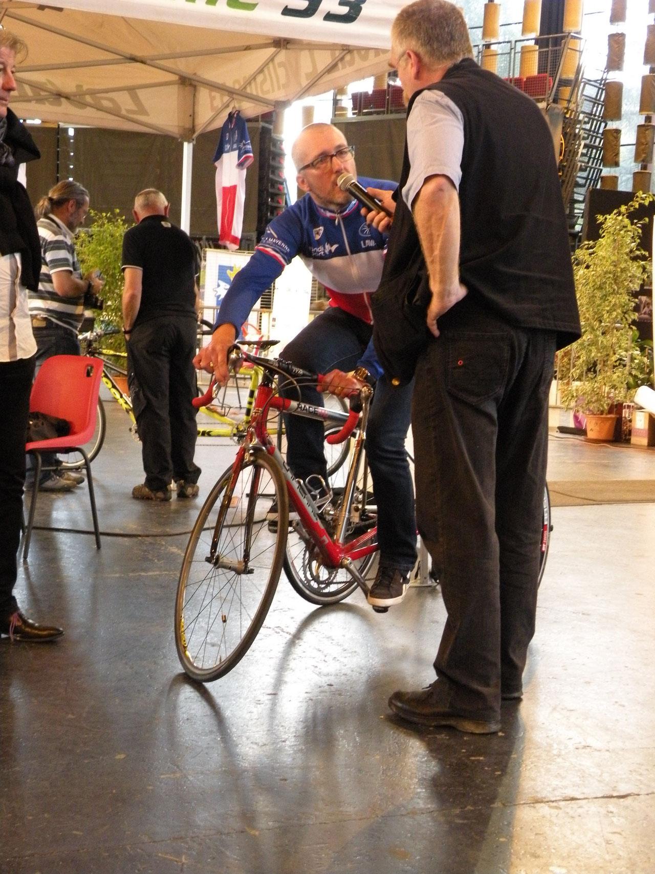 Nouvelle section en cyclisme
