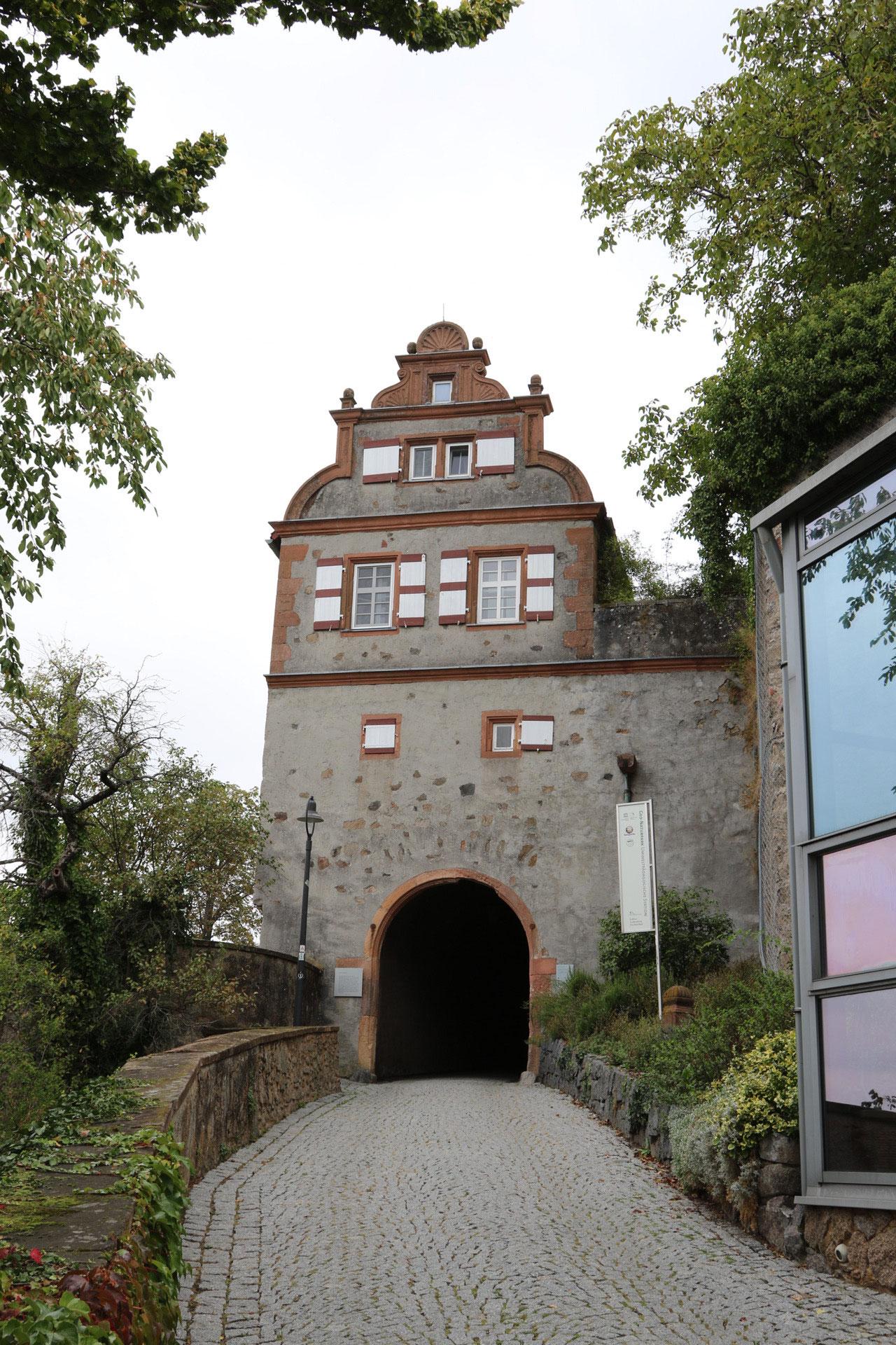Eingang zum Schloss