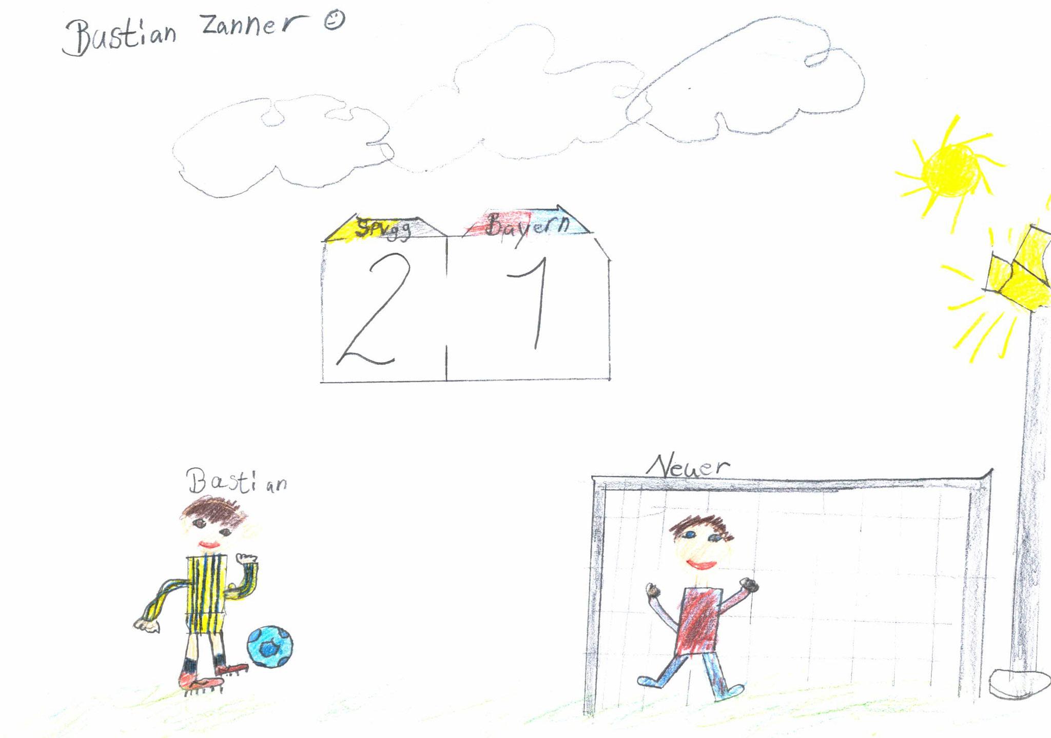 Bastian Zanner, 8 Jahre, Wolfsbuch