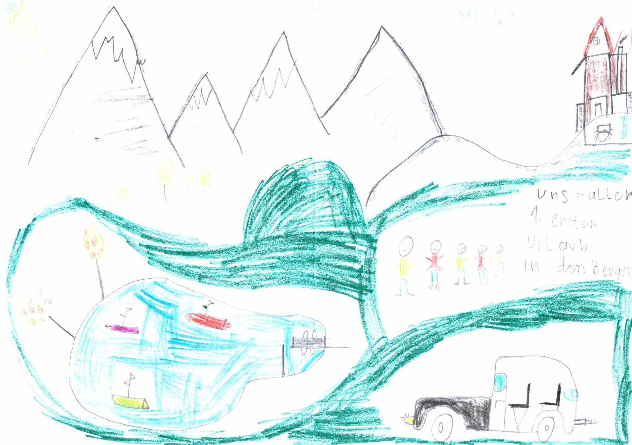 Quirin Semmler, 7 Jahre, Zell