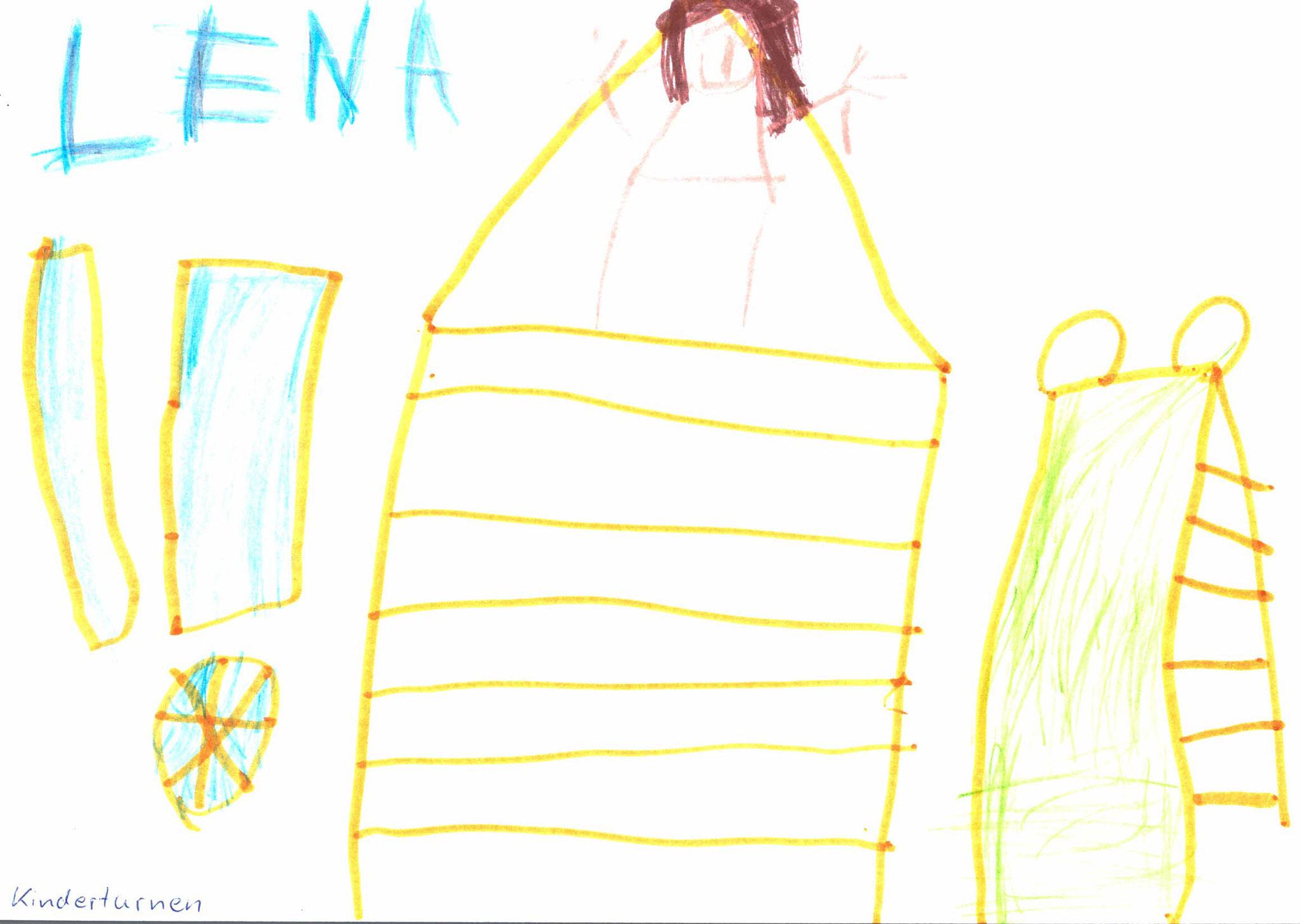 Lena Kammerl, 4 Jahre, Wolfsbuch