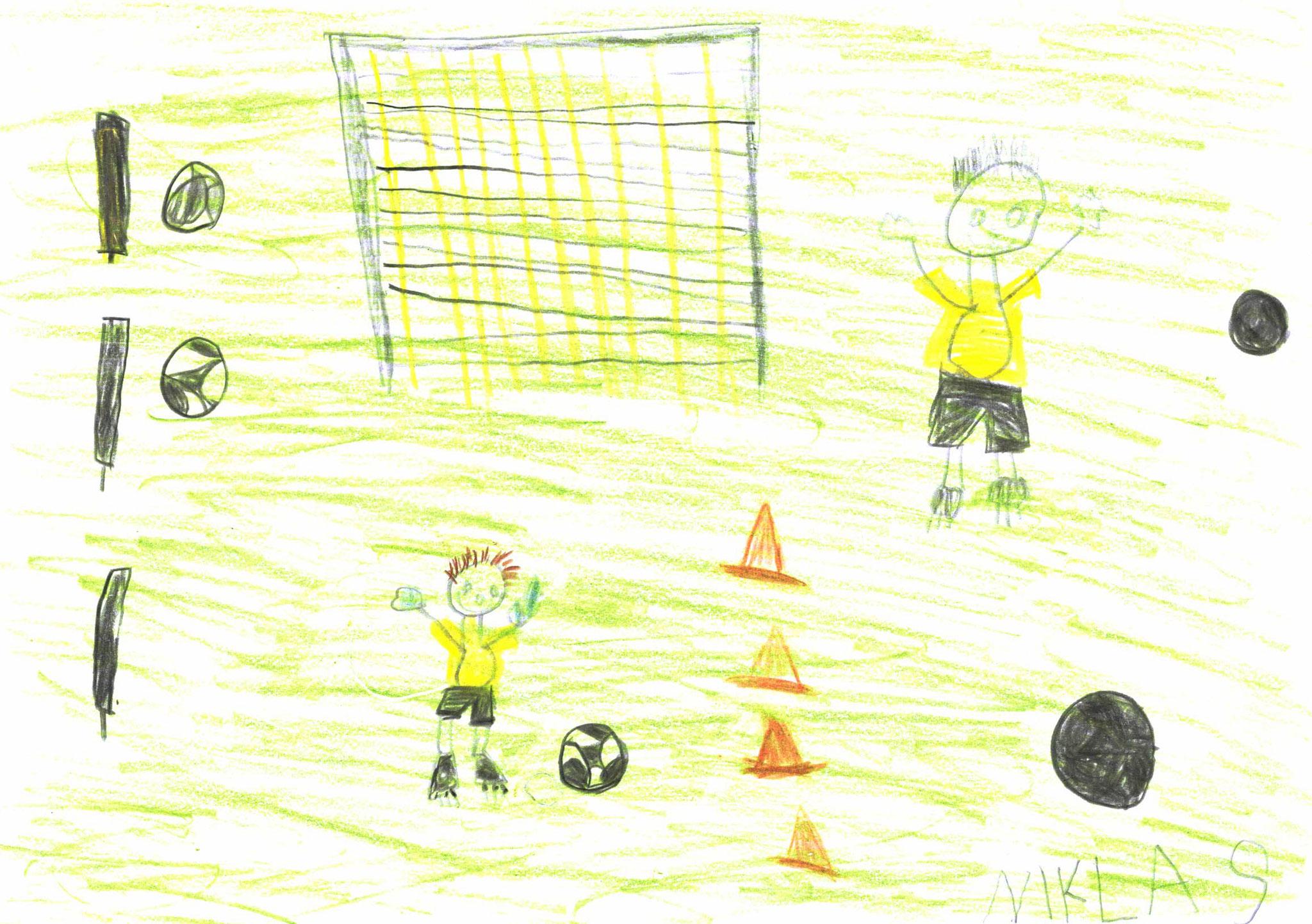 Niklas Schultes, 6 Jahre, Wolfsbuch