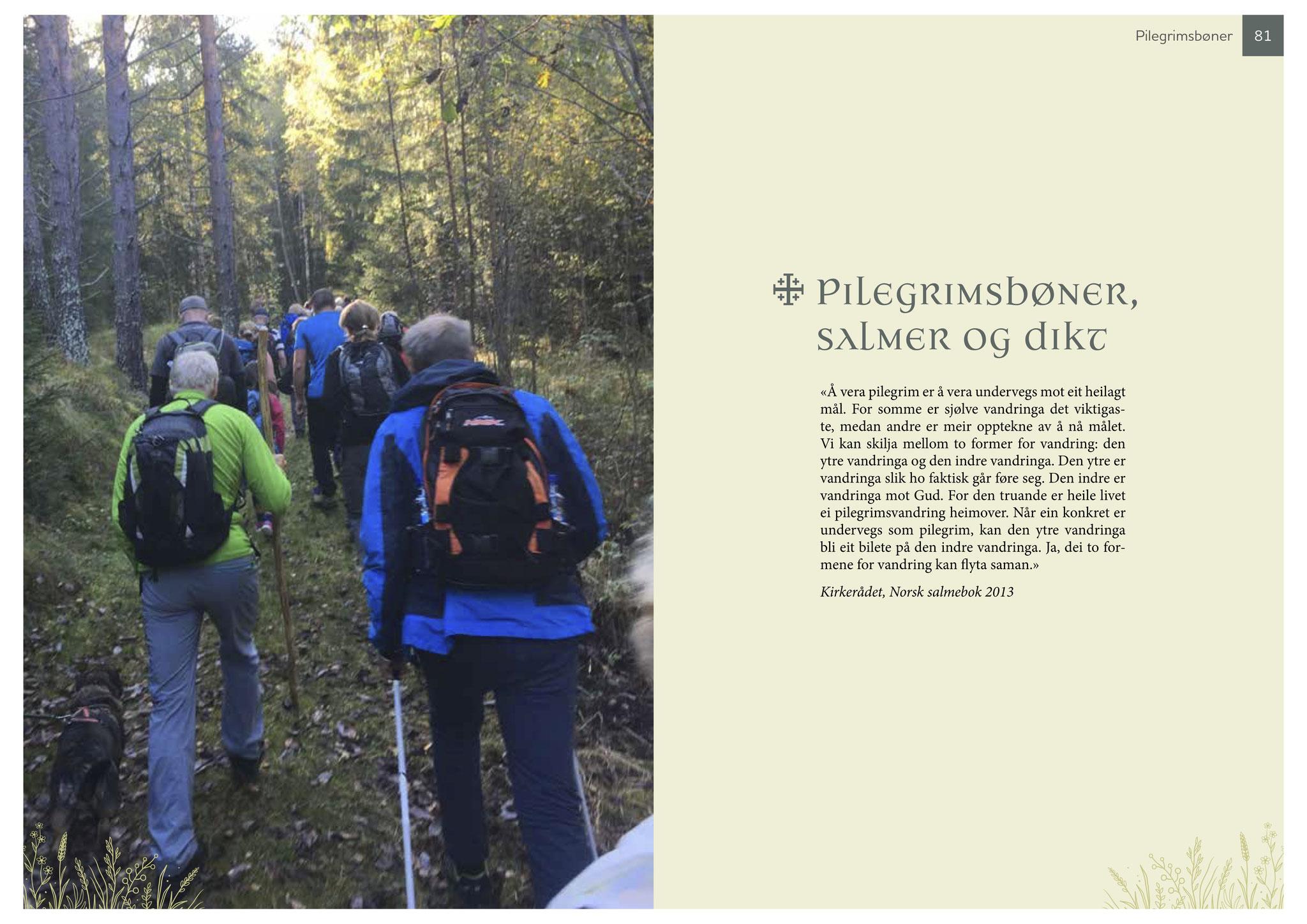 Guideboken kvitekyrkjer rundt Tinnsjøen pilegrimsbønn