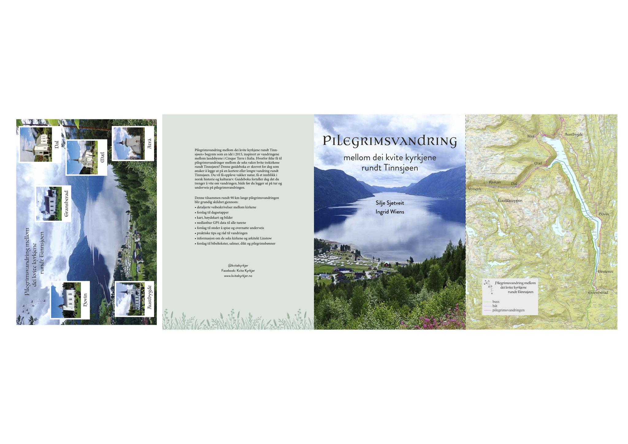 Guideboken kvitekyrkjer rundt Tinnsjøen - tittelside