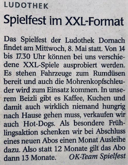 Wochenblatt vom 02.05.2019