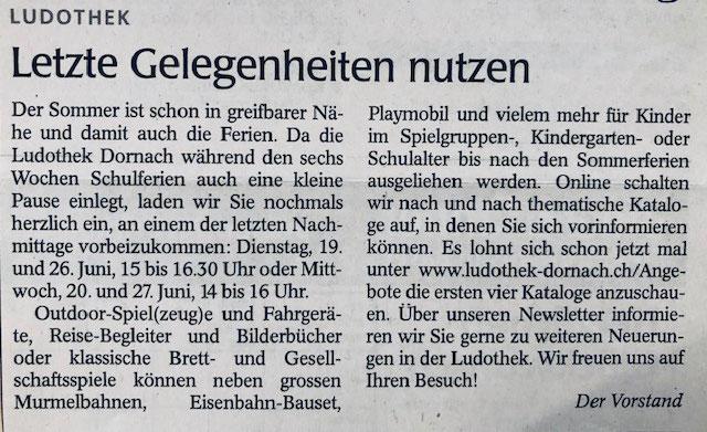 Wochenblatt vom 22.08.2019
