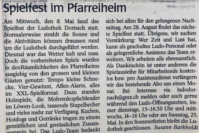 Wochenblatt vom 16.05.2019