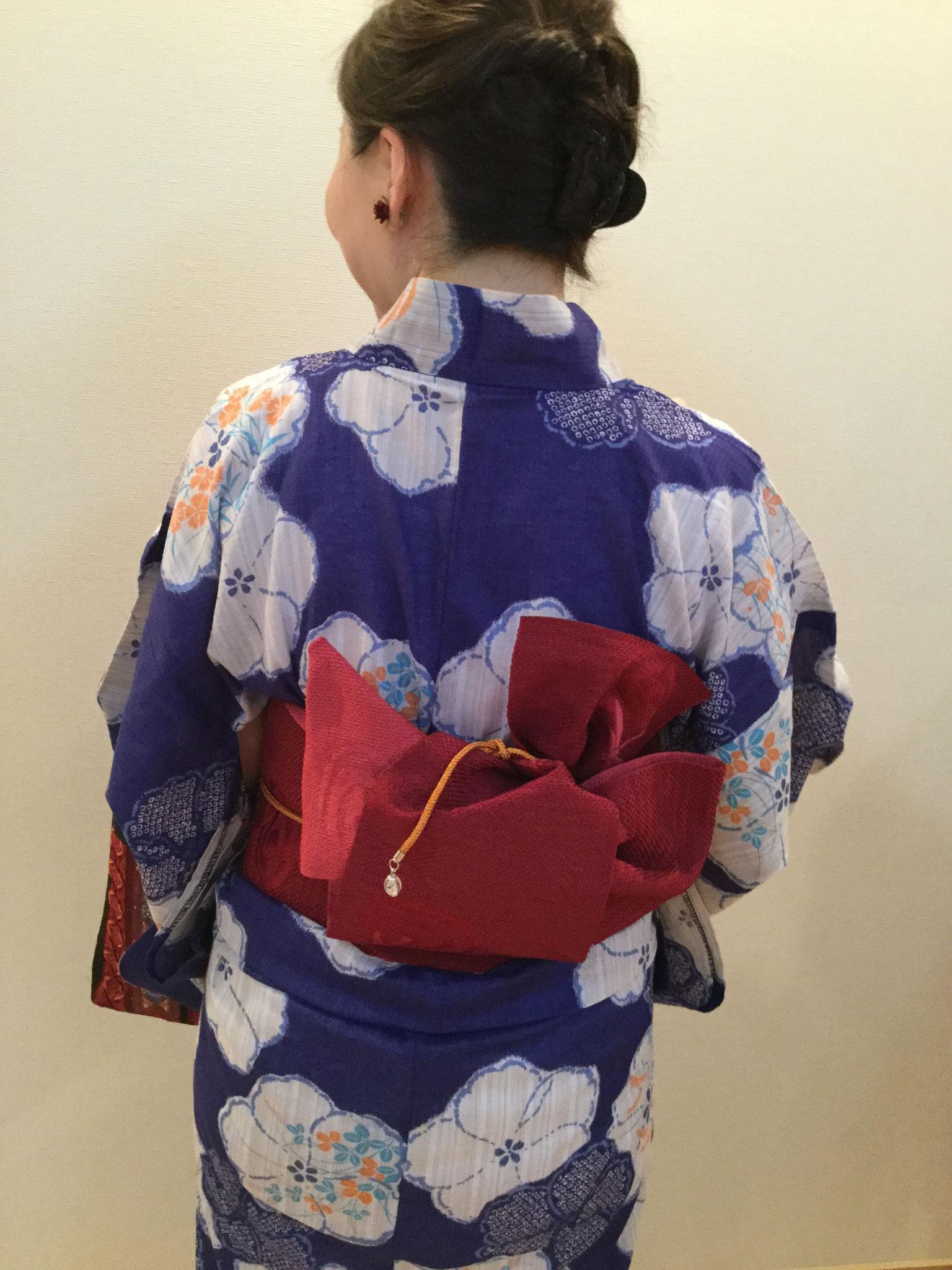 am wearing a Yukata in 2019