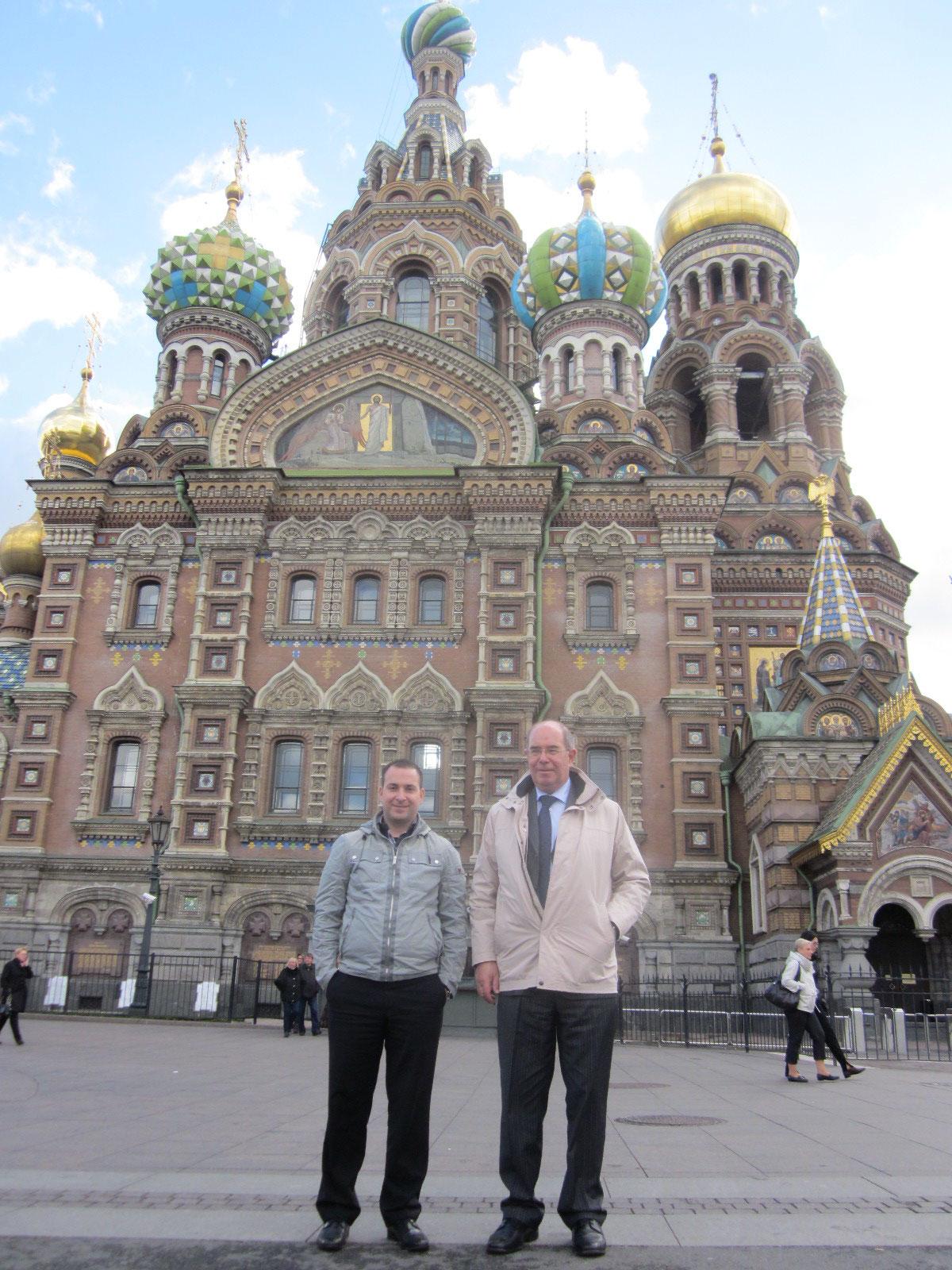 Dann in St. Petersburg