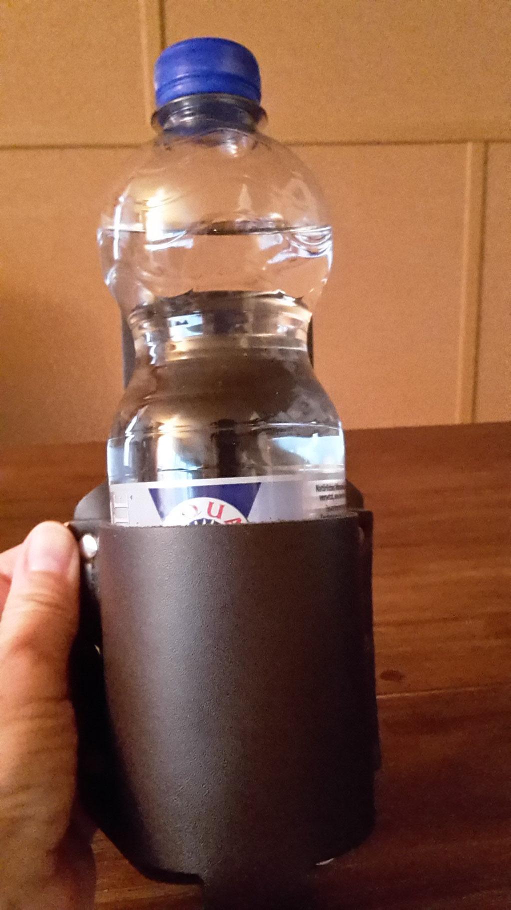 Bier Holster mit 0,5 Liter Wasserflasche