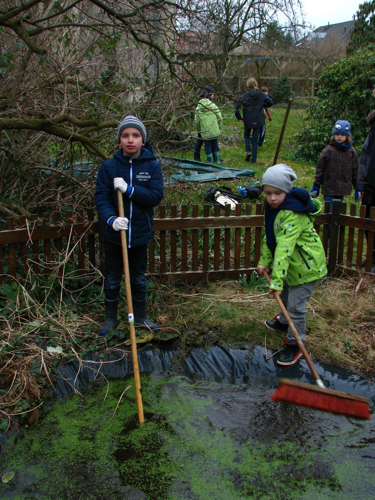 Junge Naturpfleger braucht das Land
