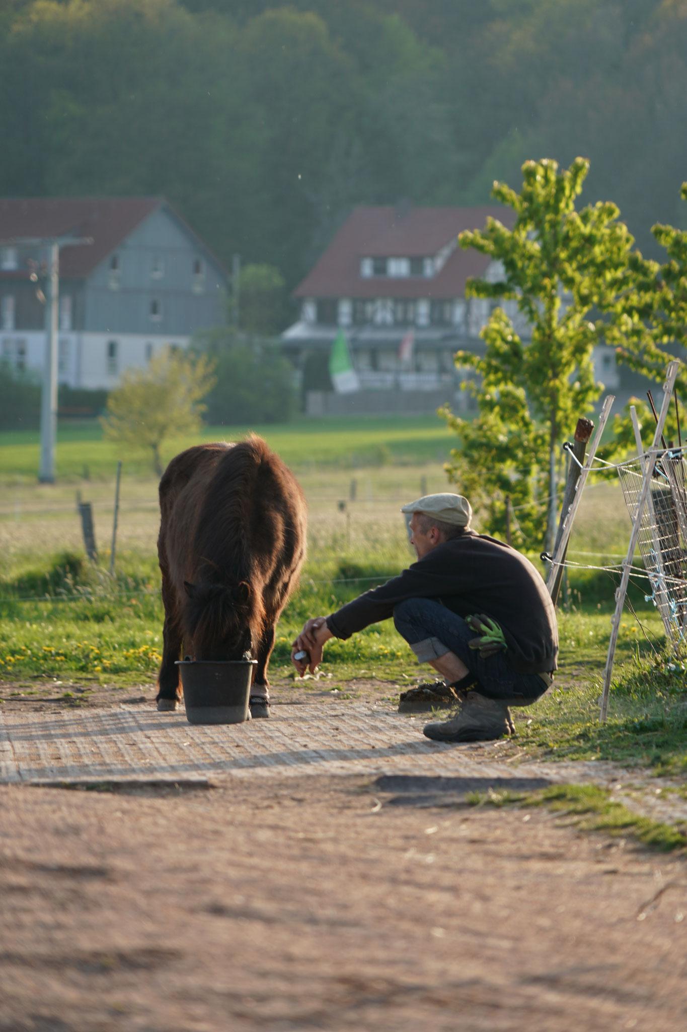 Finja und Andreas, Foto Jürgen Wolf