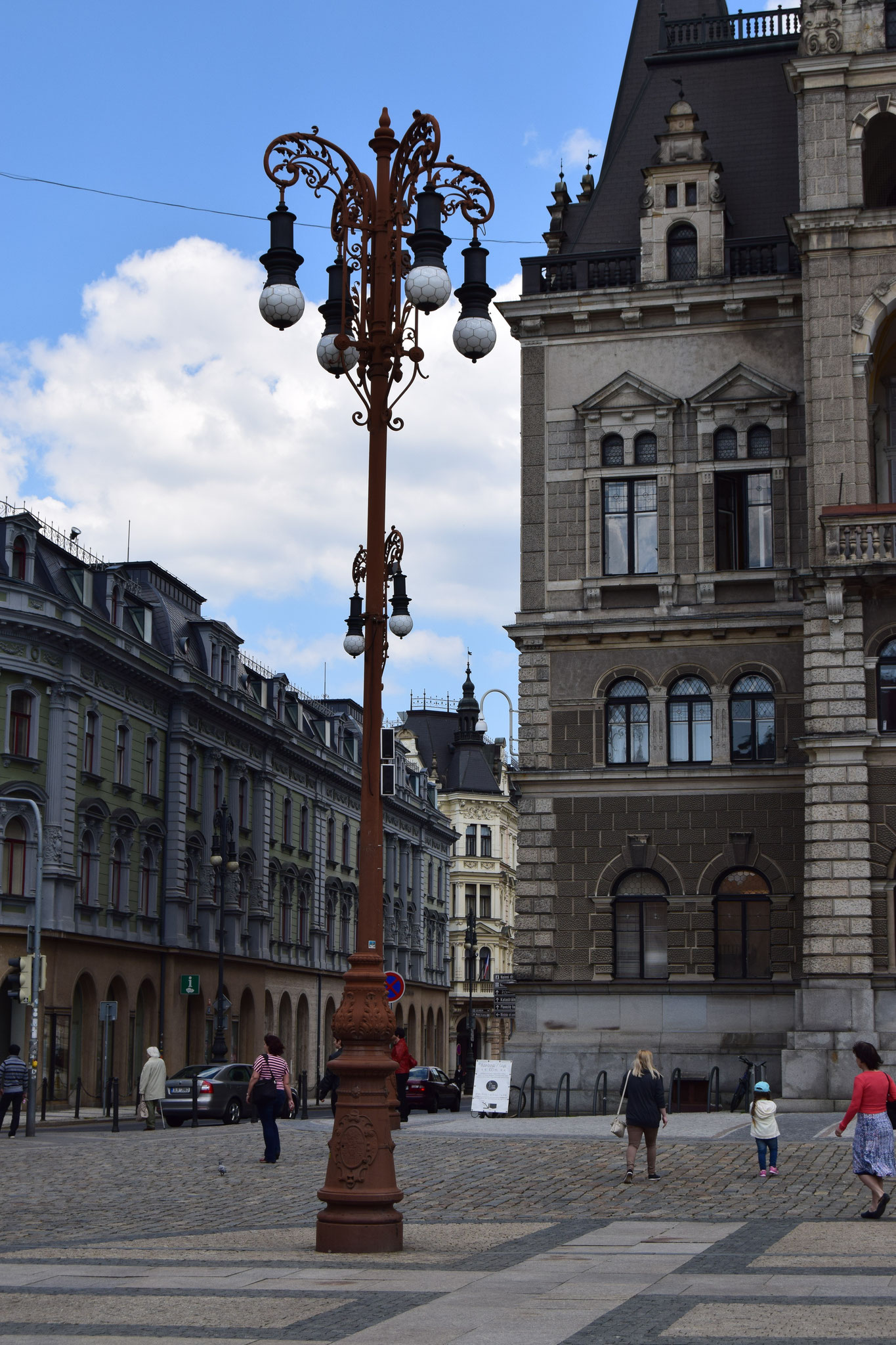 Liberec: Rathausturm