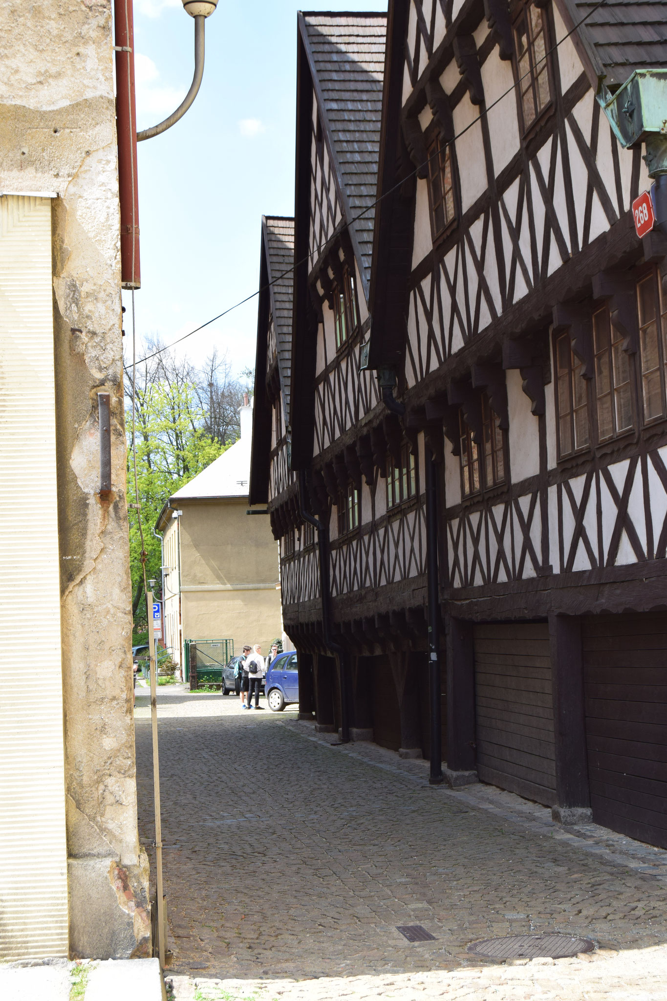 Liberec: Wallensteinhäuser 1678-1681