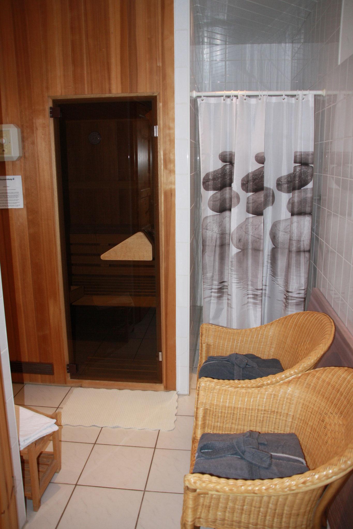Sauna (nicht in Coronazeiten)