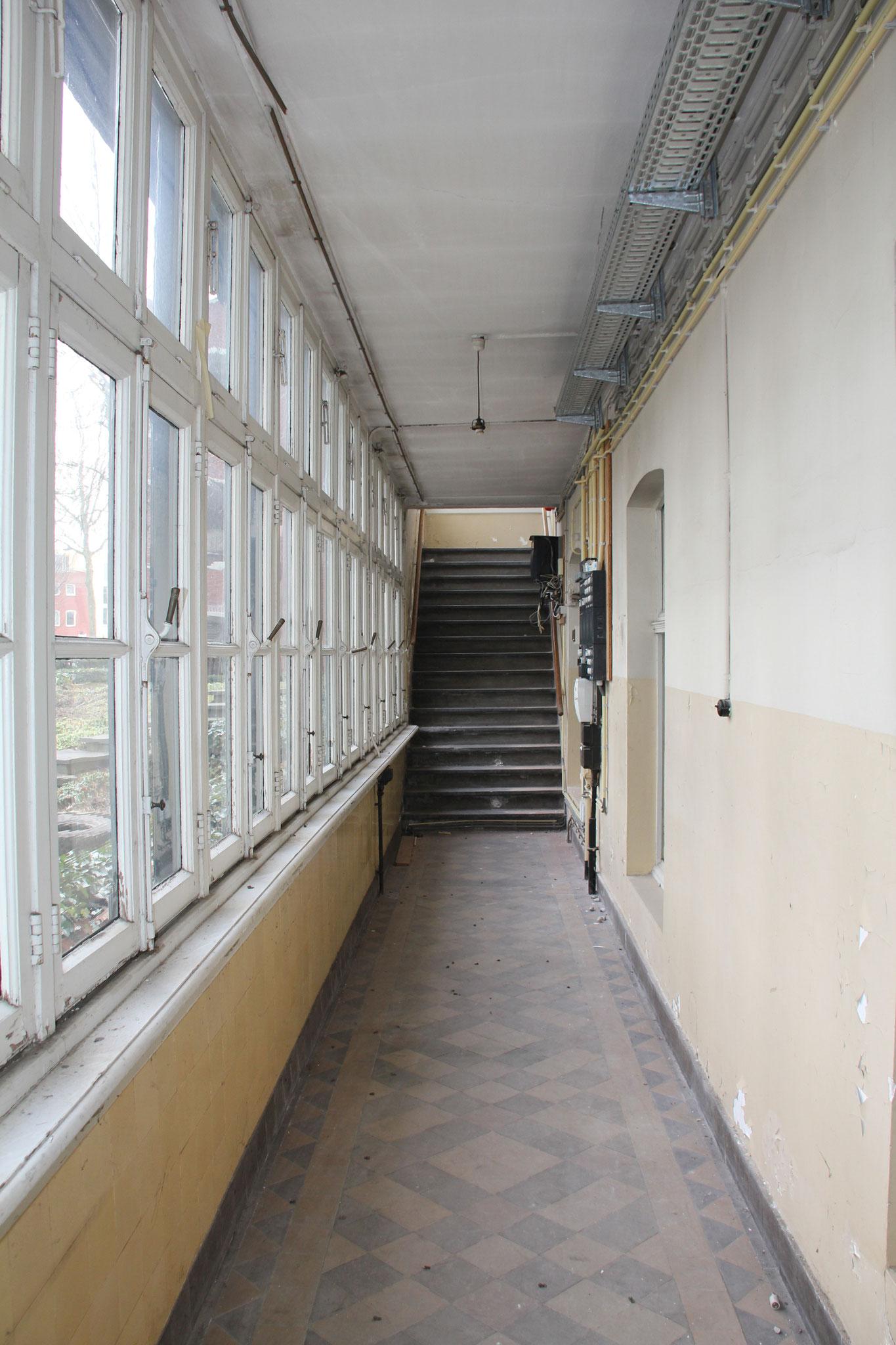 Interieur van de veranda