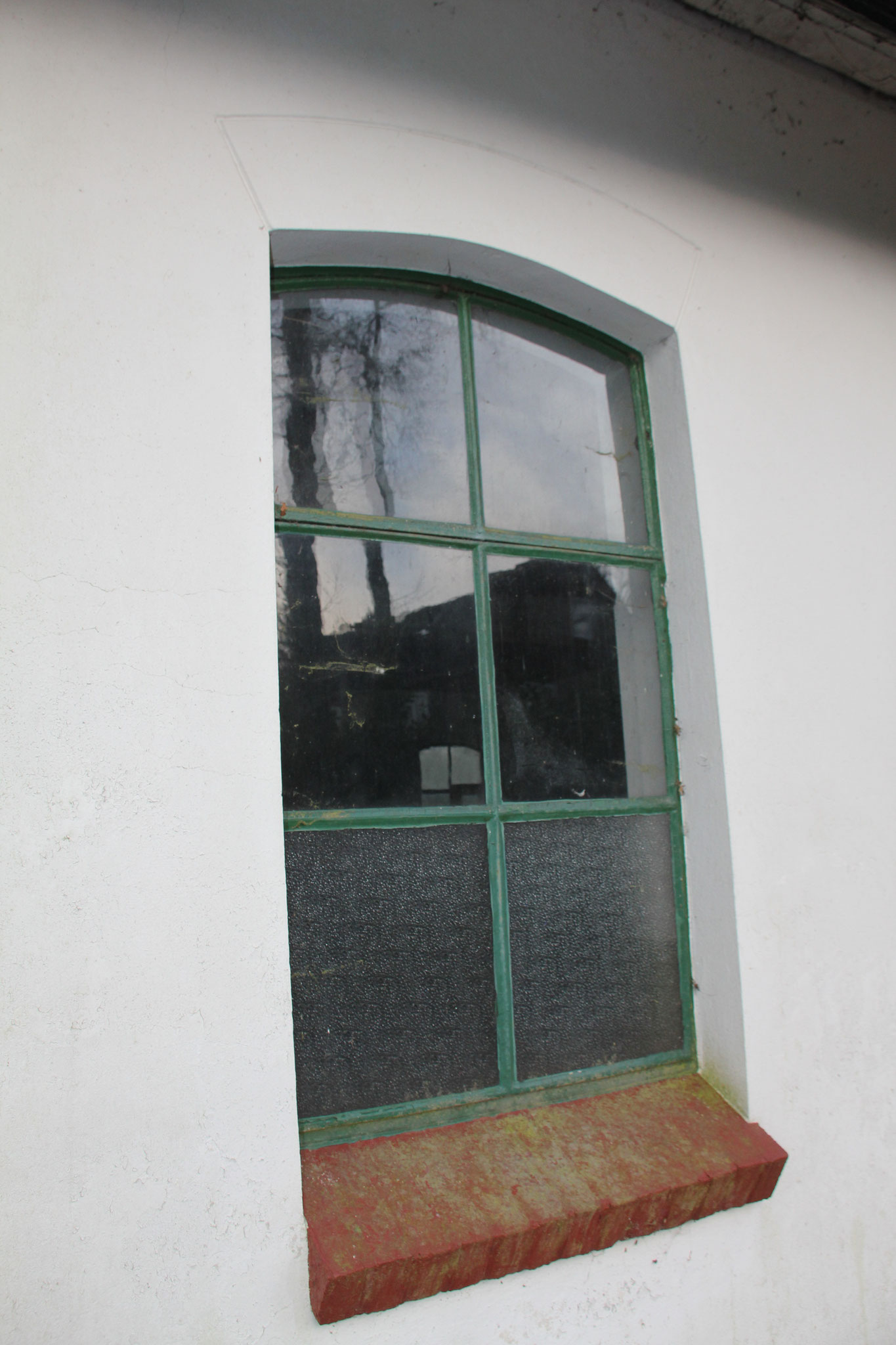 Detail: stalen venster.