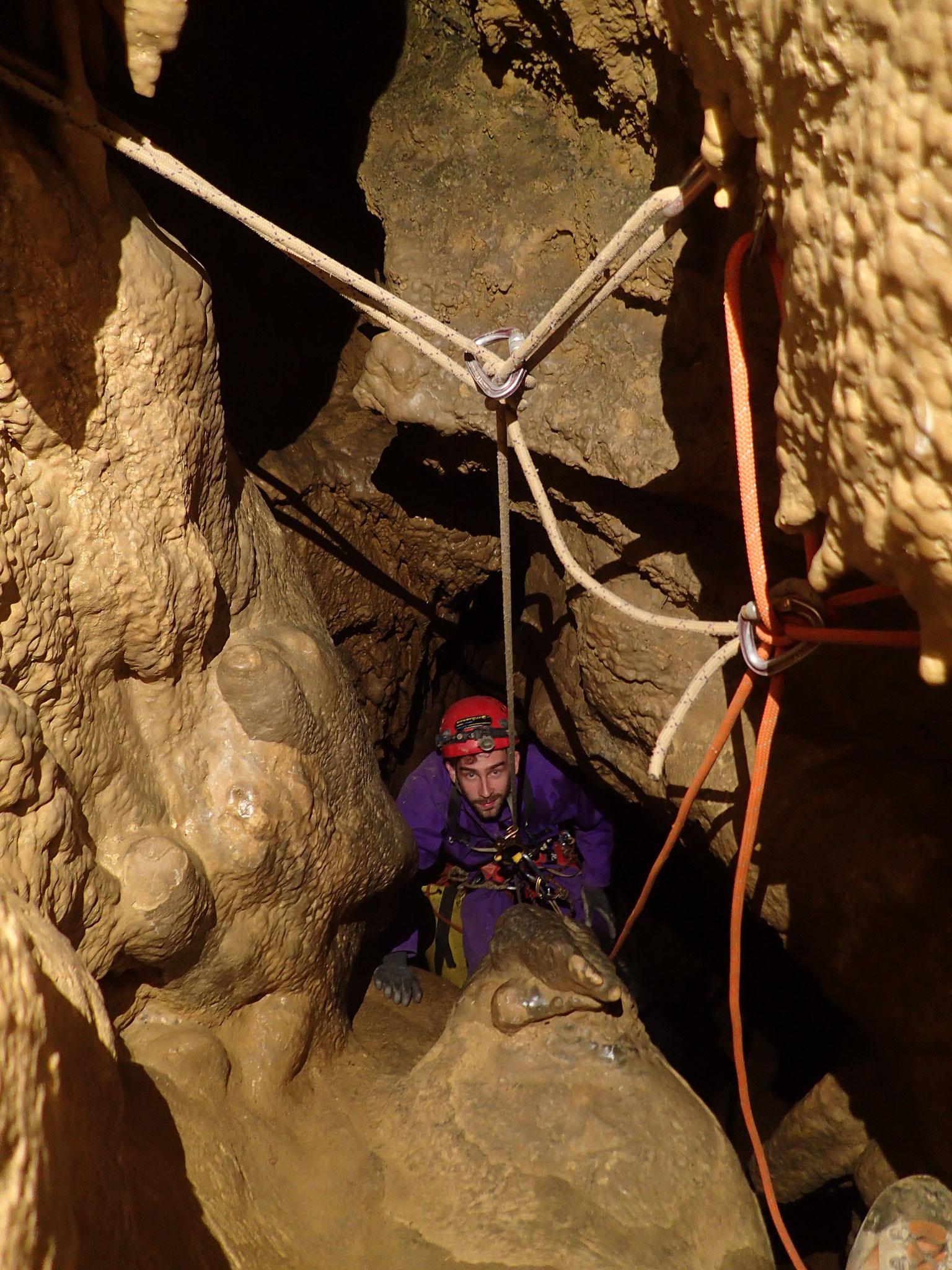 Haut du puits de 30m - Lucucilo