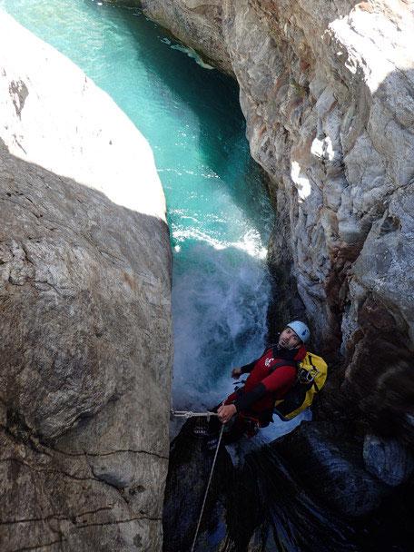 Canyon de Héas à la journée