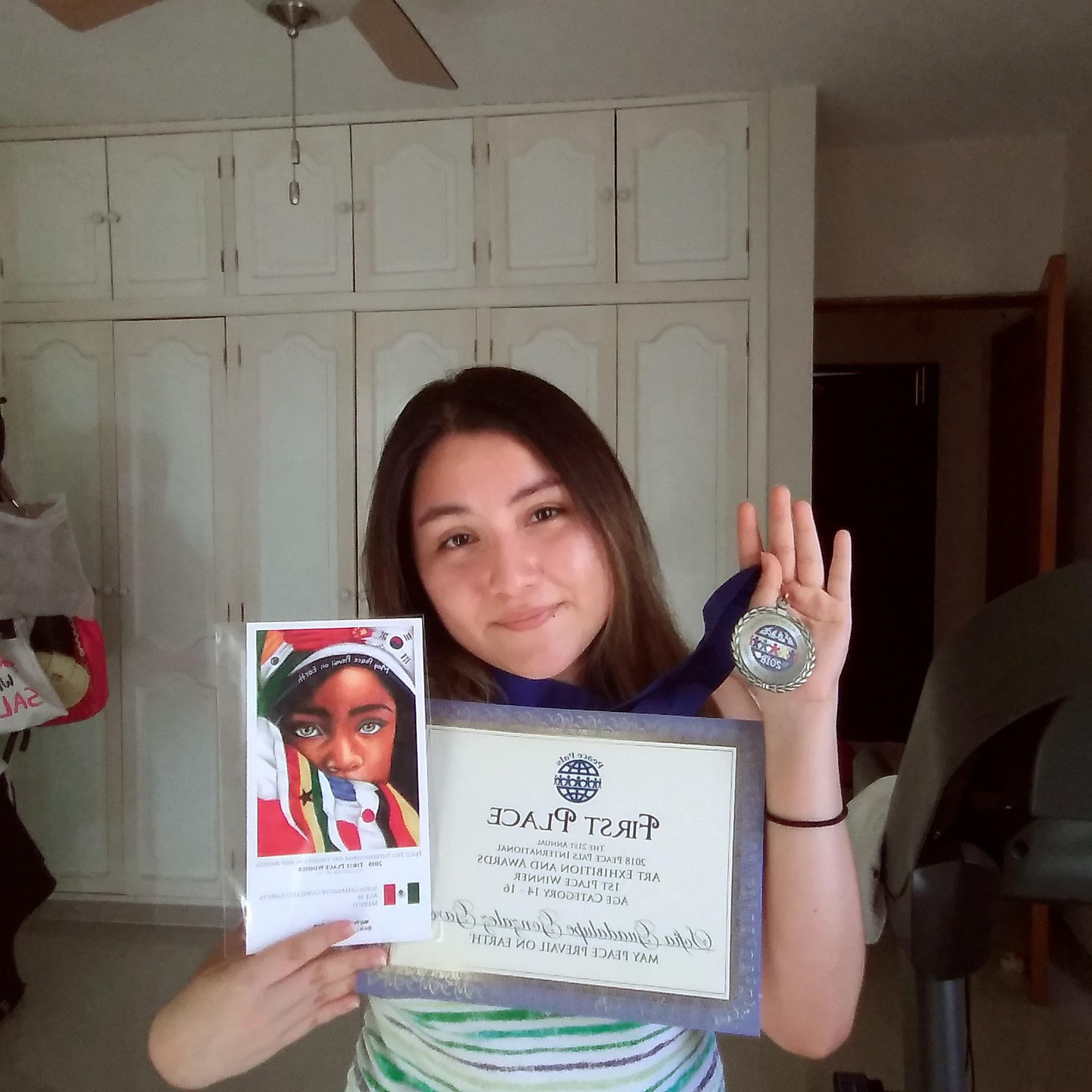 Sofia Guadeloupe Gonzalez Garcia - Mexico -