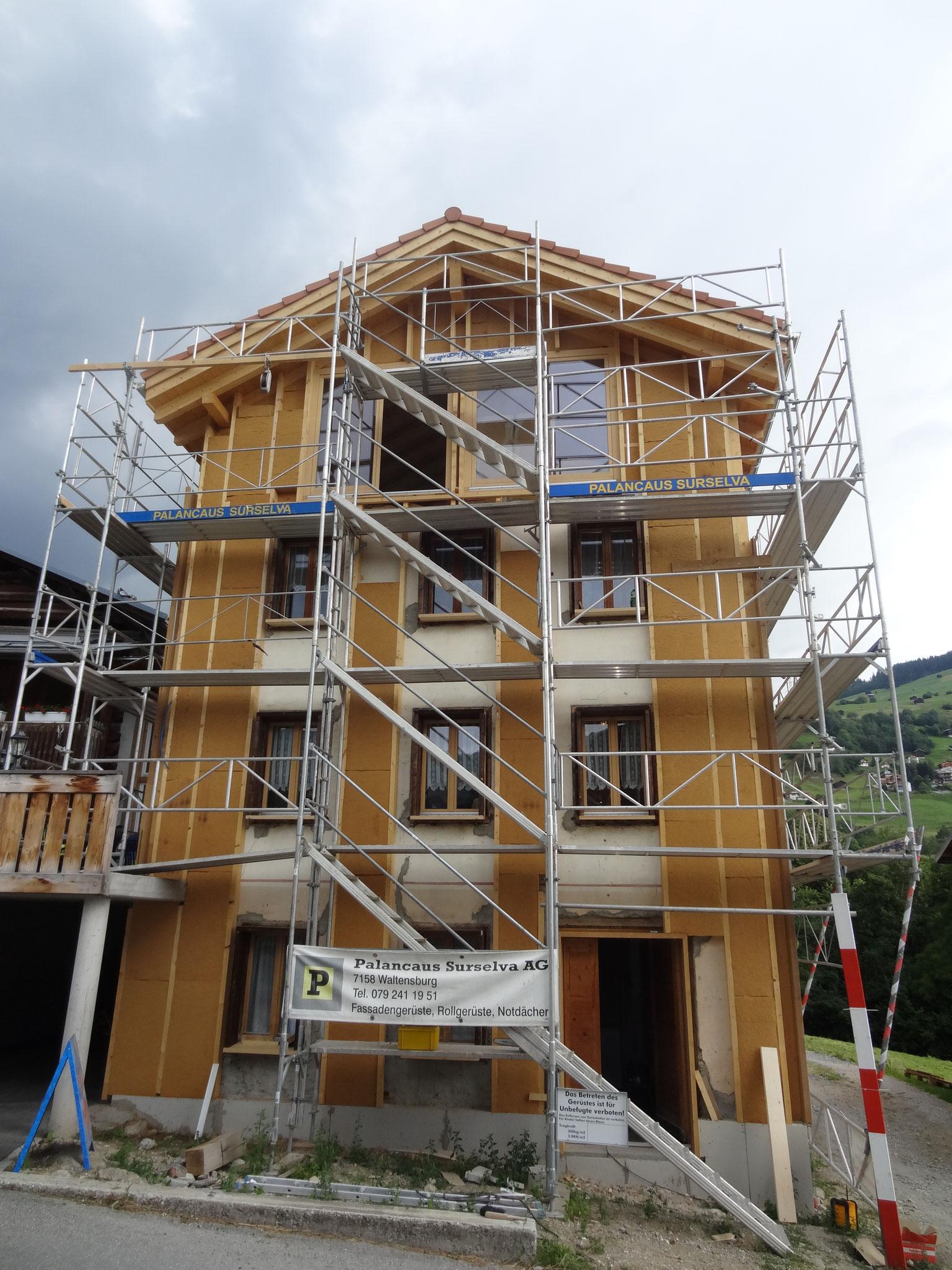 Umbau in Waltensburg 2013