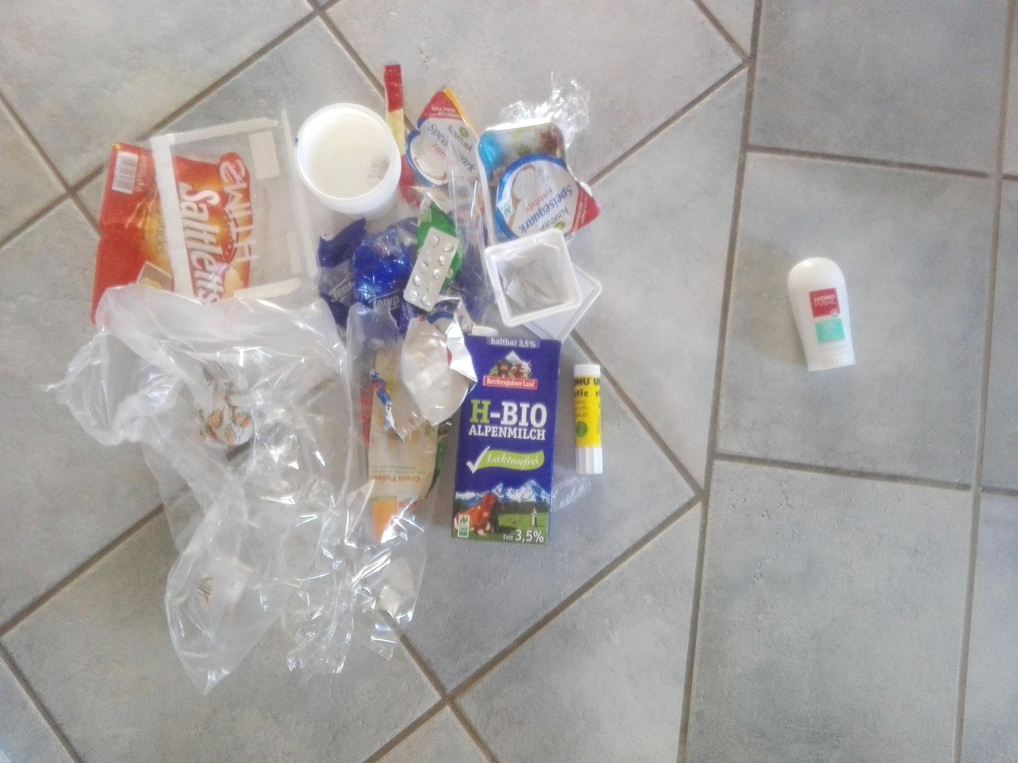 2-Personen-Haushalt bei dem in Zukunft das Deo mit einer plastikfreien Alternative ersetzt wird.