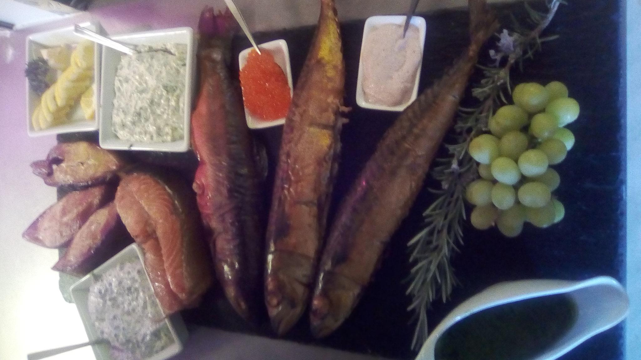 haugeräucherter Fisch
