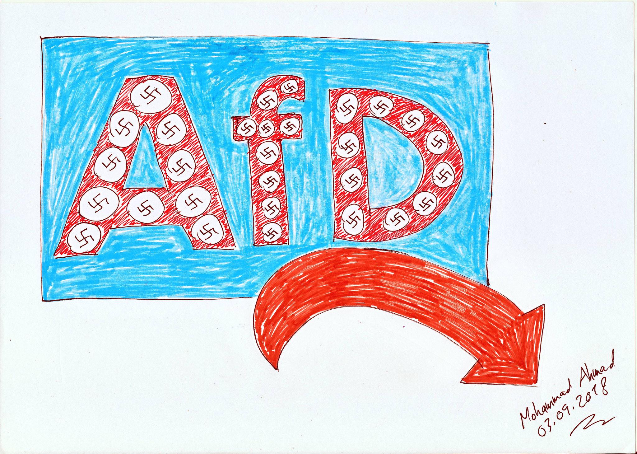 Das neue Logo der AfD