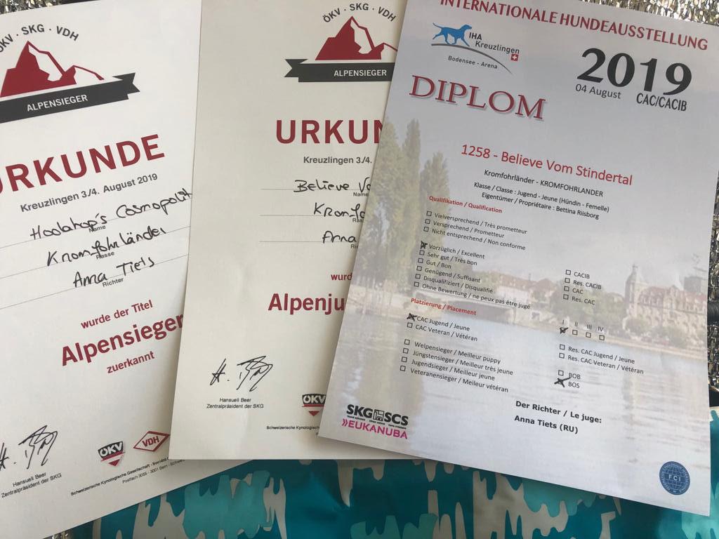 04.08.2019  Alpenjugendsieger Kreuzlingen (Schweiz)
