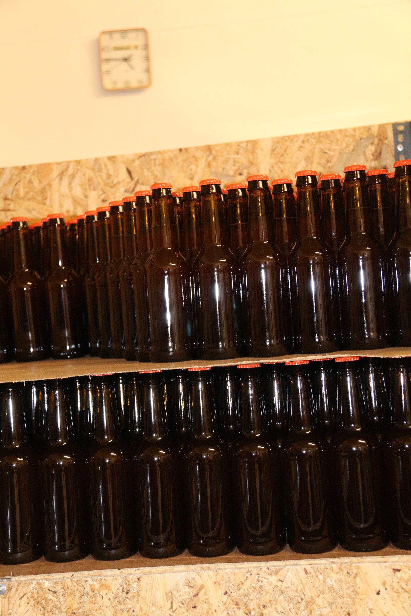 9 - Deuxième fermentation en bouteille