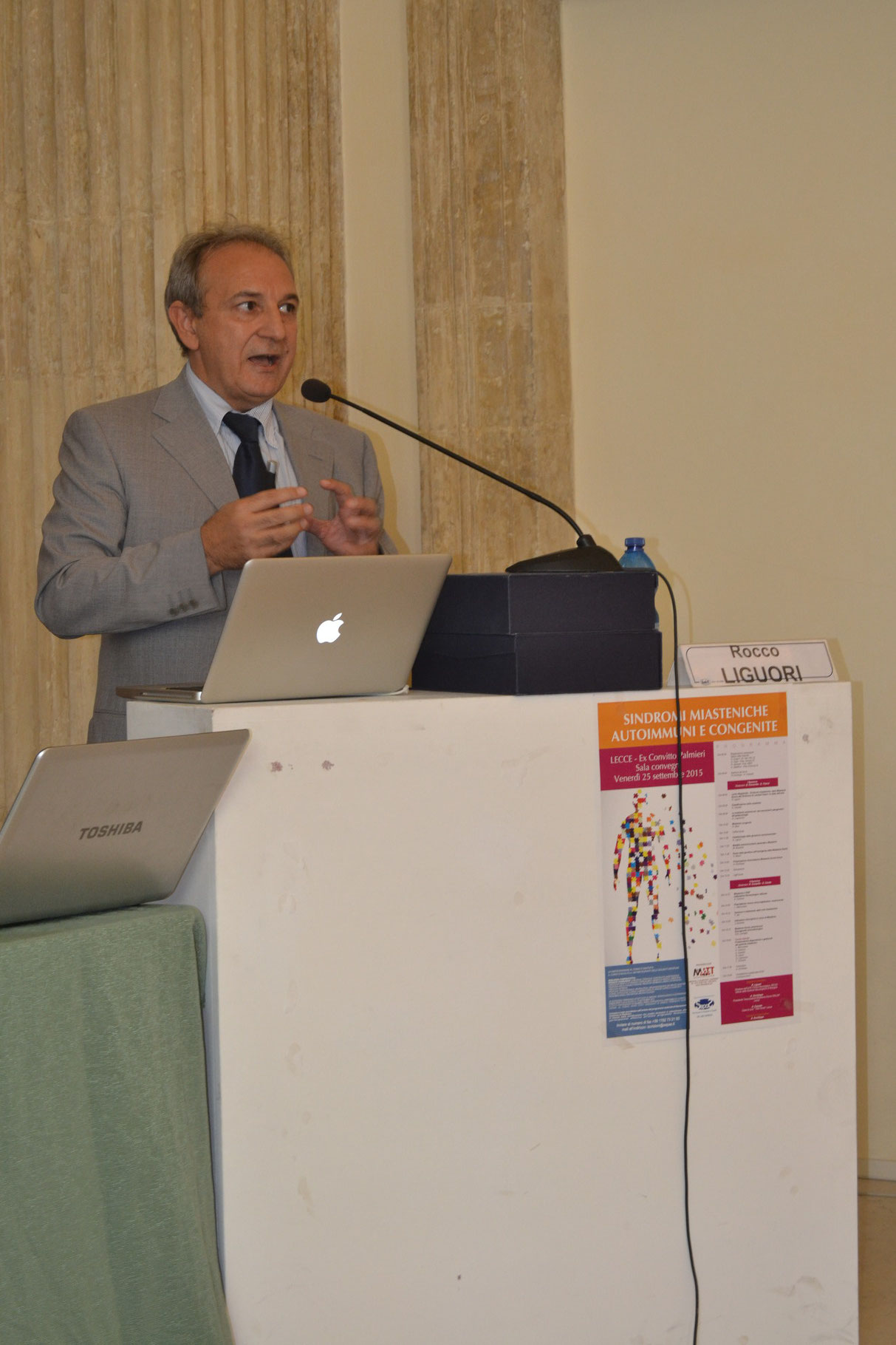 Prof. Rocco Liguori, Presidente Comitato Scientifico, Direttore Clinica Neurologica Università di Bologna. Lectio Magistralis: Sindromi miasteniche, dalla Miastenia Gravis alla Sindrome di Lambert Eaton: lo stato dell'arte.