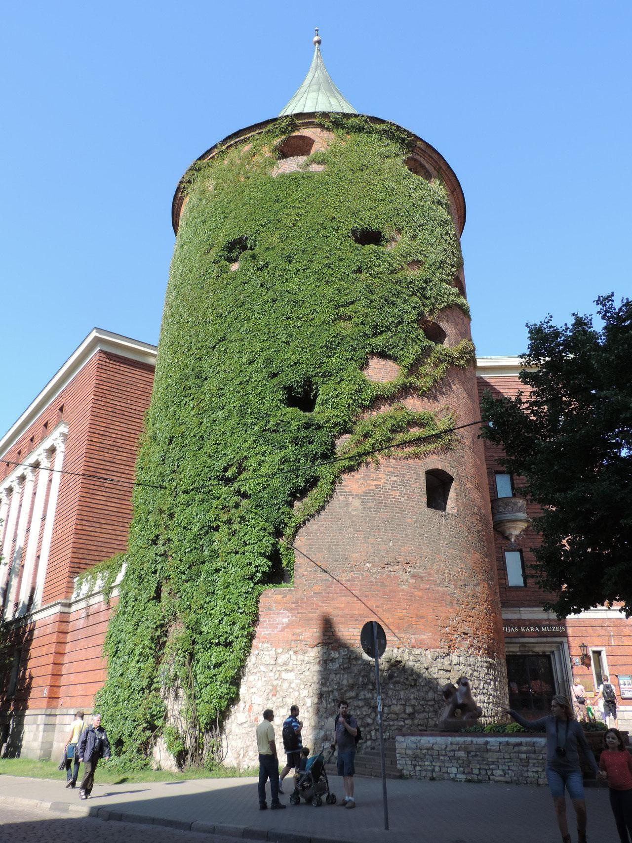 Teile der alten Stadtmauer