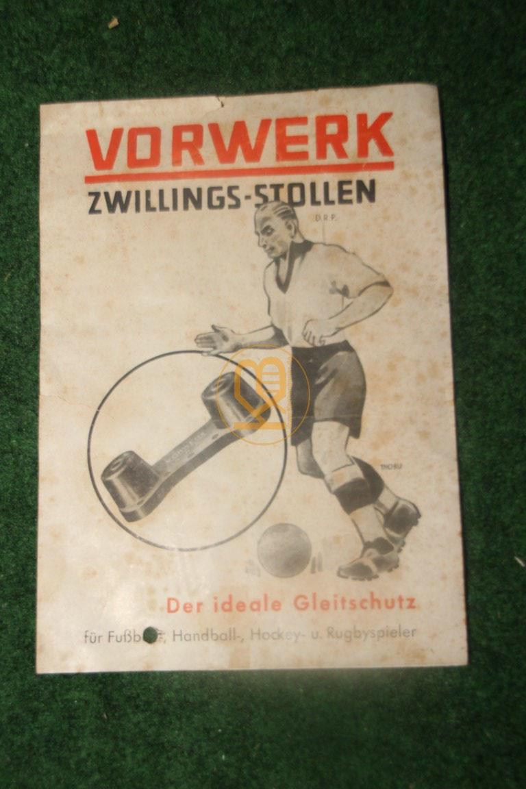 Original Werbung aus dem Jahr 1937 zu den Vorwerk Zwillings Stollen.