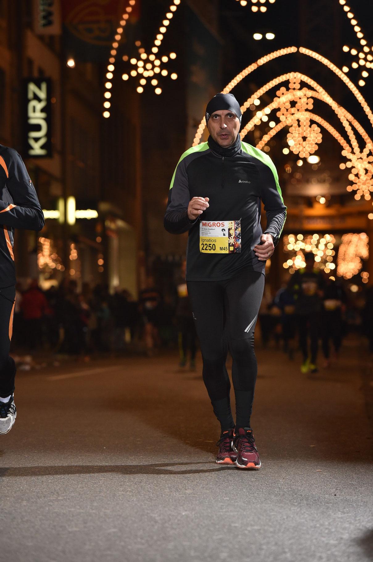 5.5  Kilometer Stadtlauf Basel 2015